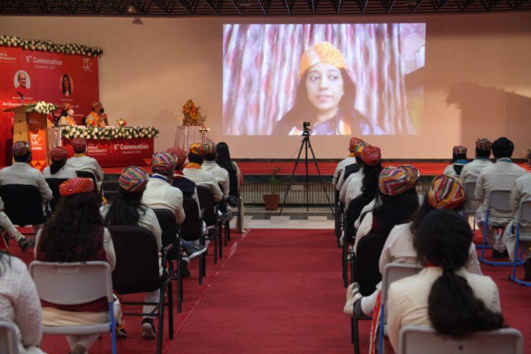 5th Convocation Indus University - 31 December 2020 (118)