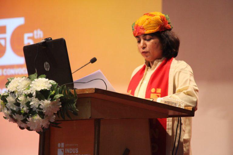 5th Convocation Indus University - 31 December 2020 (142)