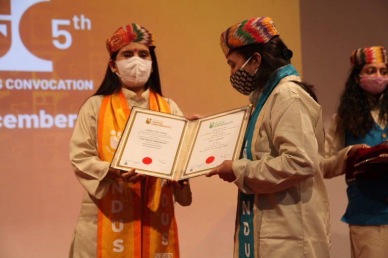 5th Convocation Indus University - 31 December 2020 (172)