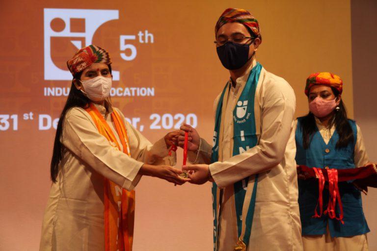 5th Convocation Indus University - 31 December 2020 (212)