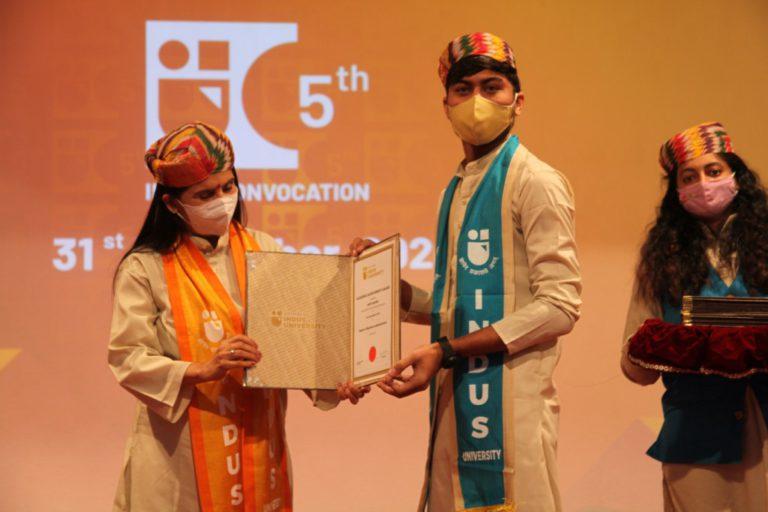 5th Convocation Indus University - 31 December 2020 (257)